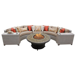 Tropical Outdoor Lounge Sets by Fratantoni Lifestyles