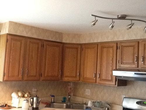 Oak Cabinets How Do I Make Them Work