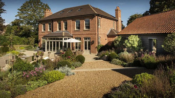 Construction of a country equestrian estate with extensive landscaped gardens.