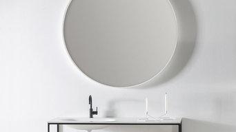 Badeværelsesmøbler / Black frame 2 - DESIGN4HOME