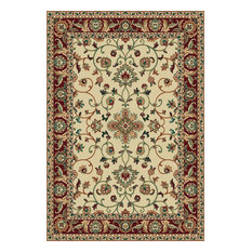 "UWA Manhattan Columbia 1'11""x7'4"" Cream Rug"