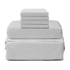Hotel Collection 1800 6-Piece Sheet Set, Gray, Queen