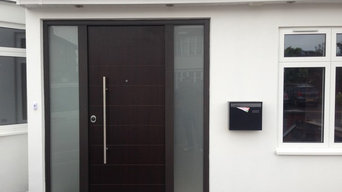 Three doors as part of home renovation