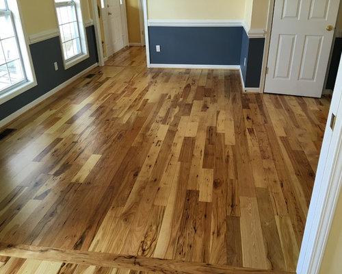 Hickory Random Width Hardwood Floors   Hardwood Flooring