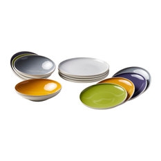 Sorbetto Assorted Dinner Plate Set, 12 Pieces