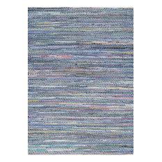 Couristan, Inc. - Couristan Nature Elements Area Rug, Denim/Multi, 3'x5' - Area Rugs