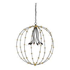 Currey and Company Anomaly Large Orb Chandelier