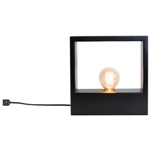 Rome Table Lamp, Black