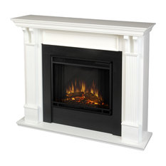 Ashley Indoor Electric Fireplace in White