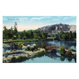 Fairmount Park Riverside California Map.Fairmount Park View Of The Japanese Garden Pagoda Print