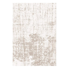 Something Ecru Casa Abstract Floor Rug, 120x170 cm