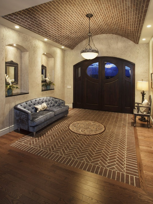 Herringbone Brick Floor Ideas Pictures Remodel And Decor
