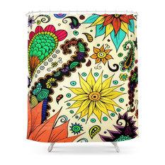 society6 society6 botanic shower curtain shower curtains