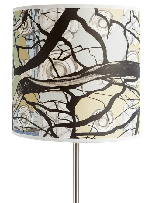 Branch Large Drum Light Shade - Lampshades