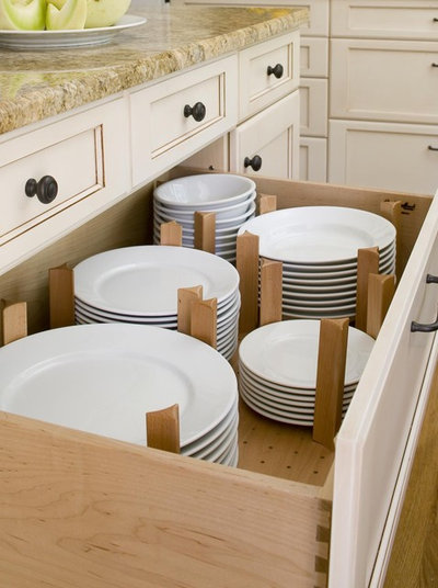 Transitional  by Kitchen Planners