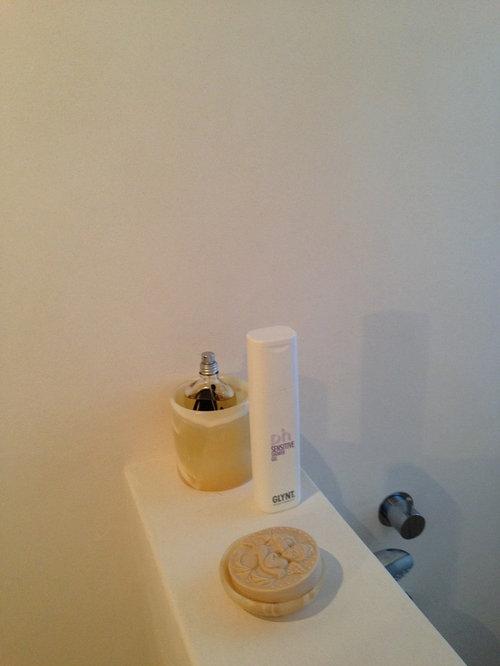 Gäste WC / Dusche fugenlos - farbrat Senza Wand 05
