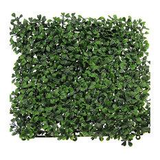 "12-Pieces 20""x20"", UV Proof Garden Artificial Boxwood Hedge Mat"