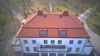 Takläggning i Skilleby