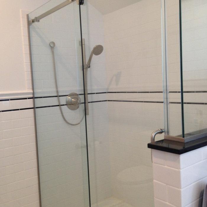 Master Bath Remodel With Custom Tile Floor