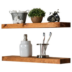 Rustic Display And Wall Shelves  by Del Hutson Designs
