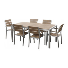 Vernio Outdoor Dining Table With Six Chairs