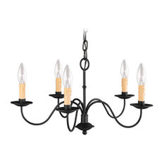 Heritage Chandelier, Black