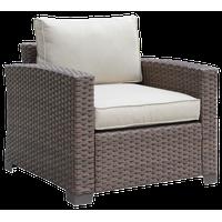 Furniture of America Condor Contemporary Patio Chair in Brown