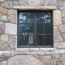Window with Bronze Cladding
