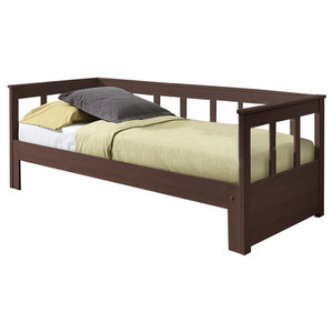 Pino Captain Bed, Taupe, Extendable
