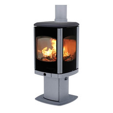 Charnwood Tor Multifuel DEFRA Stove, Pewter, 8 Kw