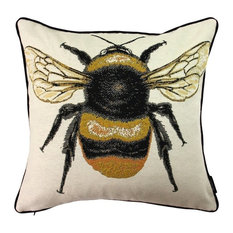McAlisterTextiles - McAlister Bugs Life Cushion Cover, Queen Bee, 43x43 cm - Scatter Cushions