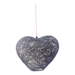 Heart Ceiling Lamp, Grey, Large