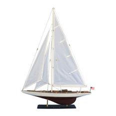 "Ranger, Americas Cup Model Sailboat, 35"""