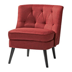 Gold Sparrow   Odessa Accent Chair, Red   Armchairs And Accent Chairs