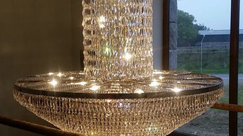 Domestic Bespoke Crystal Light Fitting