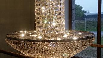 Domestic Bespoke Crystal Light Fitting