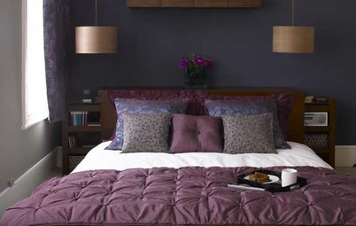 Make Over Your Bedroom With One Wall of Color