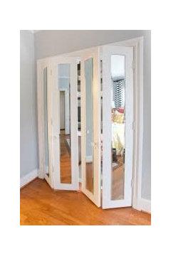 Bifold Door For The Bathroom