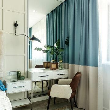 Современная квартира в элитном жилом комплексе Краснодара