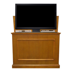 Touchstone Elevate Mission Tv Lift Cabinet For Tvs Up To