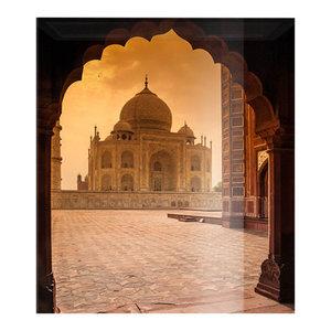 Taj Mahal Glass Splashback, 100x75 cm