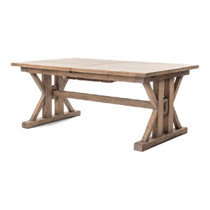 Four Hands Furniture Tuscan Spring Extension Dining Table, 72