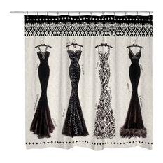 Couture Noir Shower Curtain