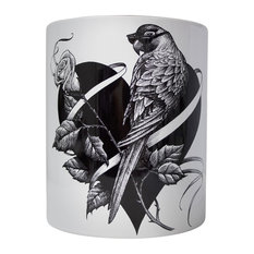 Lovebird Ceramic Vase