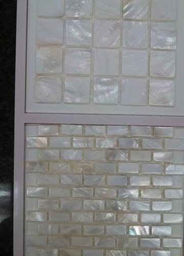Mother of Pearl Mosaic (white) - Tile