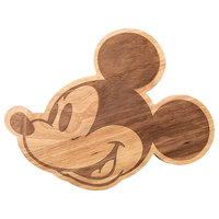 Mickey Mouse Head Cheese Platter and Cutting Board - Wooden Serving Plate