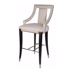 Benzara, Woodland Imprts, The Urban Port - Snazzy Contemporary Rocco High-Top Chair - Bar Stools and Counter Stools