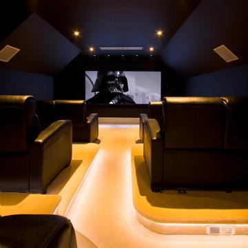 Home Cinema for a Star Wars Fan