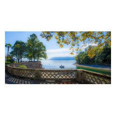 """Lago Maggiore, Canvas Giclee, 20""""x10"""""""