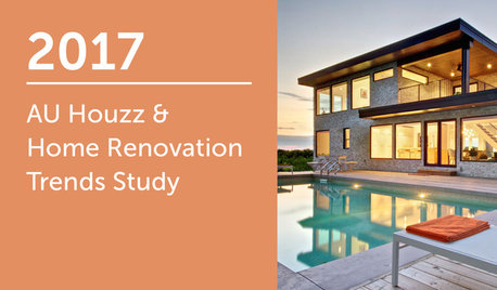 2017 AU Houzz & Home Renovation Trends Study